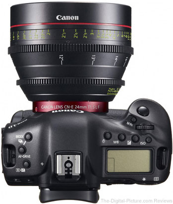 Canon EOS 1D C Digital SLR Camera Top