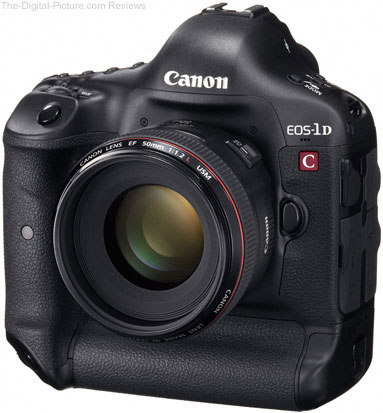 Canon EOS 1D C Digital SLR Camera