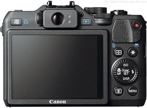 Canon PowerShot G15 Digital Camera Back