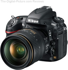 Nikon D800/D800E DSLR Camera
