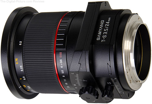 Samyang T-S 24mm 1:3.5 ED AS UMC Tilt-Shift Lens - 1