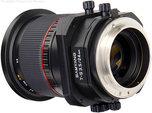 Samyang T-S 24mm 1:3.5 ED AS UMC Tilt-Shift Lens - 3