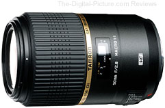 Tamron SP 90mm F/2.8 Di MACRO 1:1 VC USD Lens