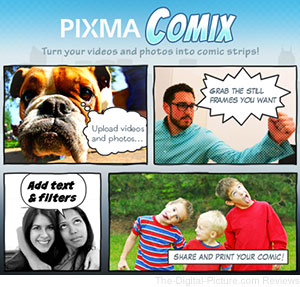 Canon U.S.A. Launches PIXMA Comix Application