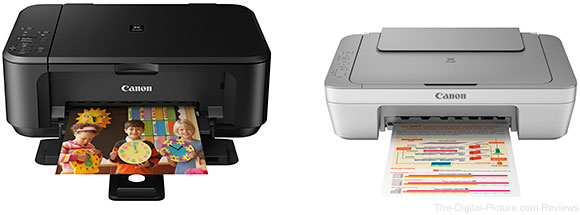 Canon PIXMA MG3520 Wireless Photo and PIXMA MG2420 All-In-One Printers