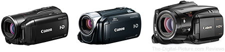 Save 20% on Select Refurbished Canon Camcorders