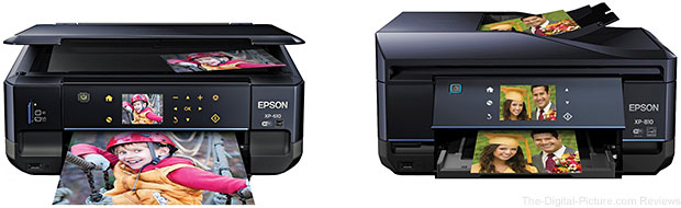 Epson Expression XP-610 and XP-810 Printers