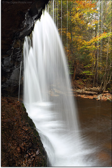 From Behind Oneida Falls, Ricketts Glen State Park