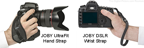 JOBY UltraFit Hand Strap and DSLR Wrist Strap