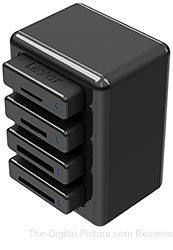 Lexar Introduces Professional Workflow Reader that Transfers Images from Up To Four Memory Cards at Once