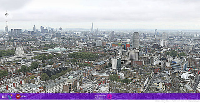 320-Gigapixel Panoramic Photo of London