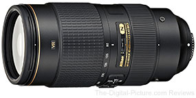 Nikon AF-S NIKKOR 80-400mm f/4.5-5.6G ED VR Lens
