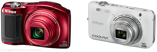 Nikon COOLPIX L620 and S6600 Digital Cameras