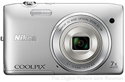 Nikon COOLPIX S3500 User's Manual Now Available