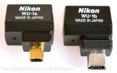 Nikon WU-1a and WU-1b Wireless Adapters