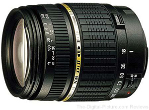 Tamron 18-200mm f/3.5-6.3 XR DI-II LD Lens