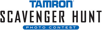 Tamron Scavenger Hunt Photo Contest