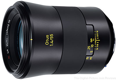 Zeiss Introduces Otus 55mm f/1.4 Lens