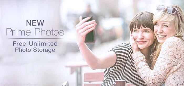 Amazon Prime Photos with Unlimited Storage