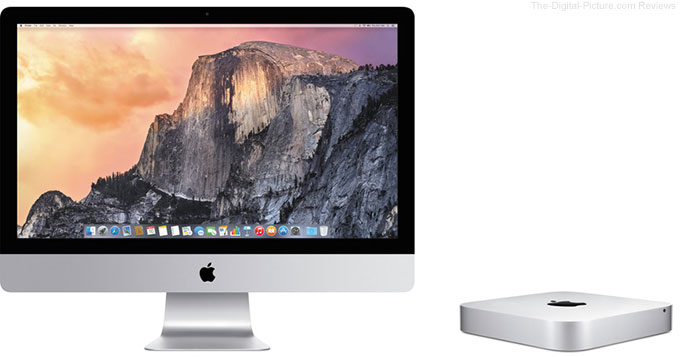 "Apple 27"" iMac with Retina 5K Display & New Mac mini Available for Preorder"