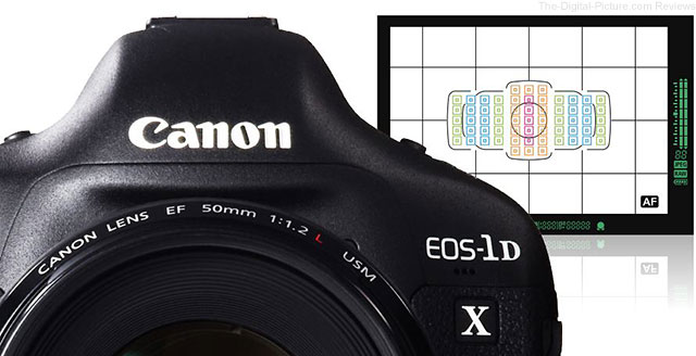 Canon Updates EOS 1D X AF Setting Guidebook for Mobile