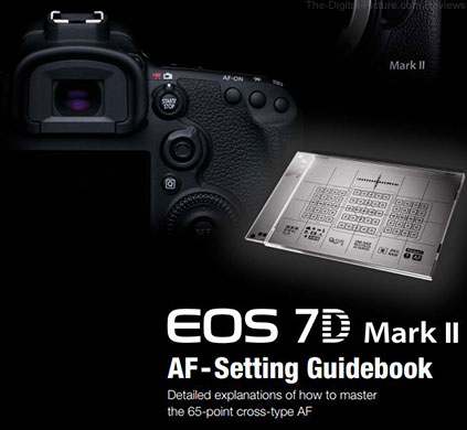 Canon EOS 7D Mark II AF-Setting Guidebook