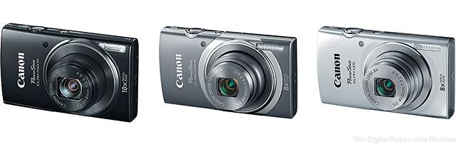 Canon PowerShot ELPH 150 IS, PowerShot ELPH 140 IS and PowerShot ELPH 135 Digital Cameras