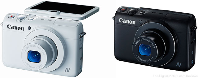 Canon Announces PowerShot N100 Digital Camera