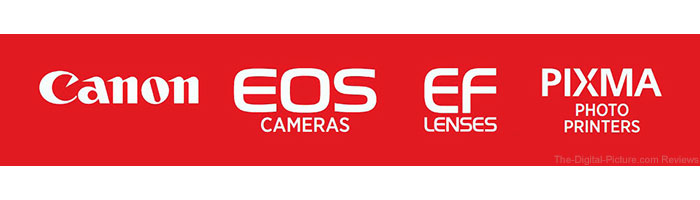 Canon Rebates Banner