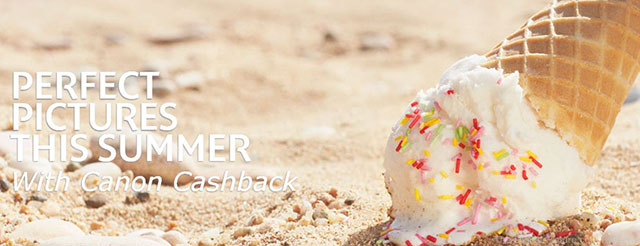 Canon Summer Cashbaack Program (UK)