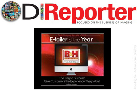 B&H Named Digital Imaging Reporter's 2014 E-tailer of the Year