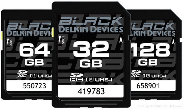 "Delkin Debuts BLACK Line – ""World's Most Rugged"" SD Cards"