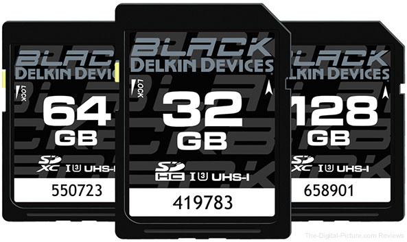 Delkin BLACK SDHC/SDXC Memory Cards