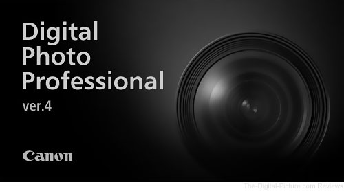 Canon Digital Photo Professional 4 Splash Screen