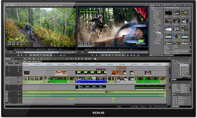EDIUS Pro 7 Editing Software