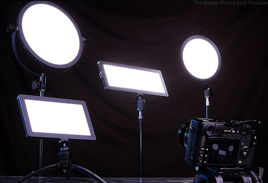 Fotodiox Flapjack LED Lights