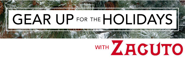 Zacuto's Gear Up for the Holidays Giveaway