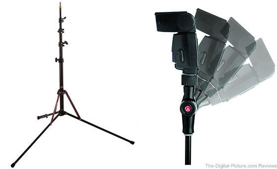Manfrotto Nanopole Stand and Snaptilt Head