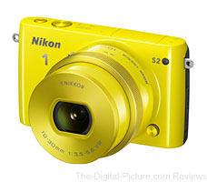 Nikon 1 S2 Mirrorless Camera (Yellow)