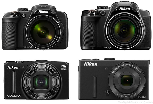 Nikon Introduces New COOLPIX P600, COOLPIX P530, COOLPIX S9700 and COOLPIX P340 Digital Cameras
