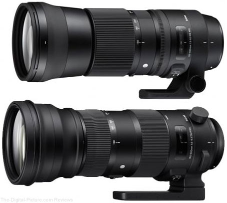 Sigma Announces 150-600mm Sports and Contemporary Lenses