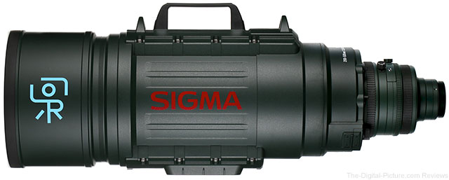 Save $11,000.00 on the Sigma 200-500mm f/2.8 EX DG APO Lens for Canon