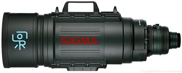 Sigma 200-500mm f/2.8 EX DG APO Lens (Sigzilla)