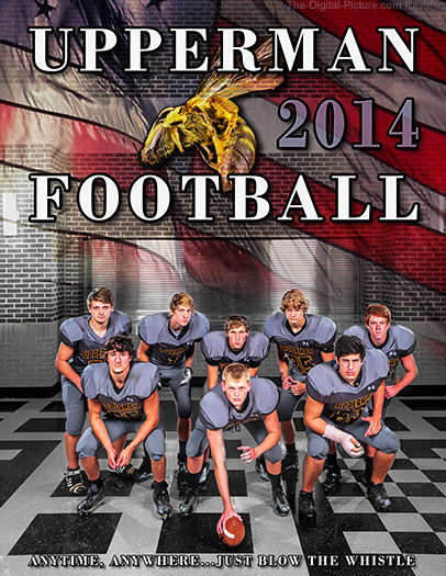 Upperman High's 2014 Football Program Cover