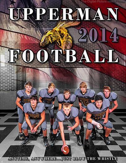 Upperman High School 2014 Football Program Cover