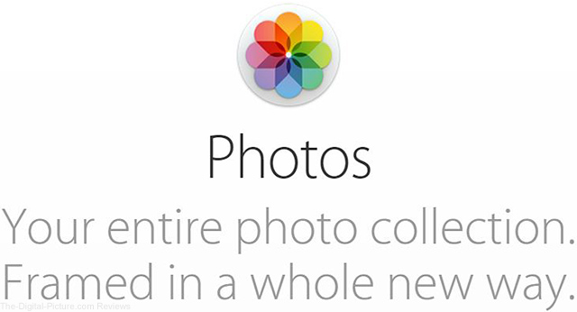 Apple Photos Website Header