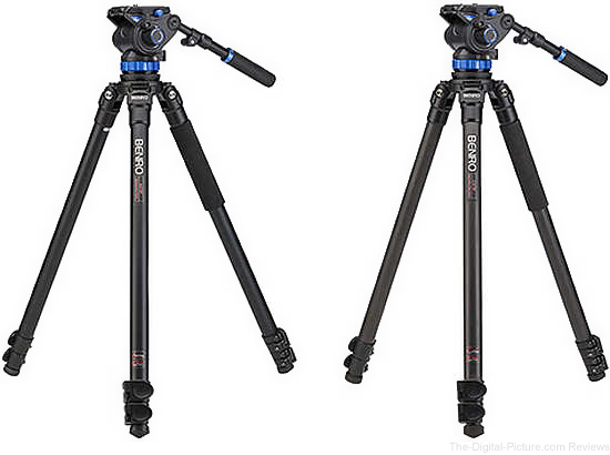 Benro S7 Video Head & Tripod Kits