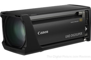 Canon Developing High-Magnification, Long-Focal-Length Broadcast Zoom Lens Supporting 4K