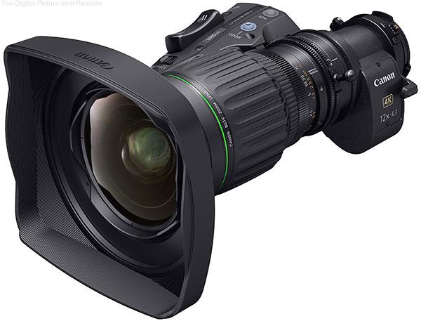 Canon CJ12ex4.3B 4K Zoom Lens