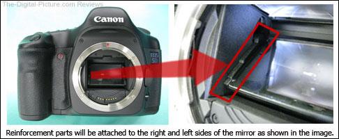 Canon EOS 5D Mirror Detach